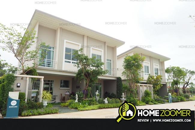 รีวิวทาวน์โฮม J Villa Bang Pakong-Baan Poh