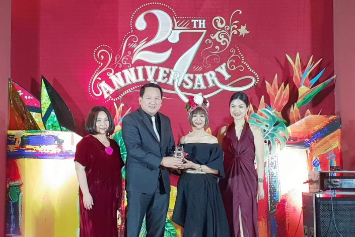 """""""เดอะรีเซิร์ฟ 61 ไฮด์อะเวย์"""" รับรางวัล Best Residential Award จาก Thailand Tatler ในงาน Tatler Ball 2018"""