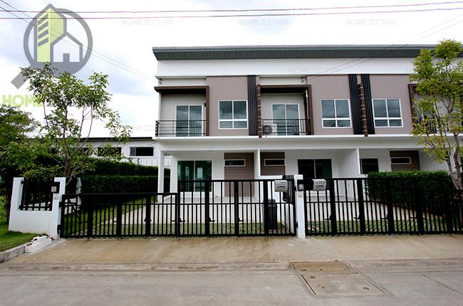 รีวิวทาวน์โฮม THE TRUST Townhome Rangsit - Klong1