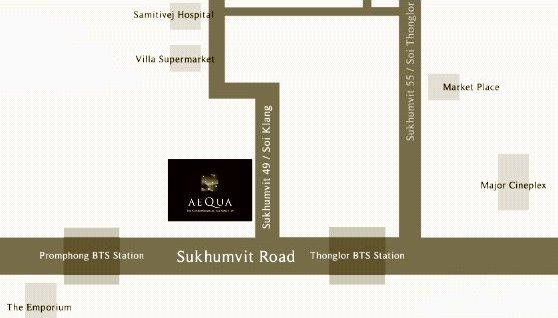 Aequa Residence Sukhumvit 49 (เอควา เรสซิเดนซ์ สุขุมวิท 49)