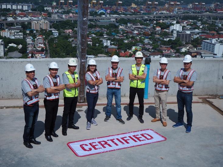 อนันดาฯ ตรวจคุณภาพงานก่อสร้าง