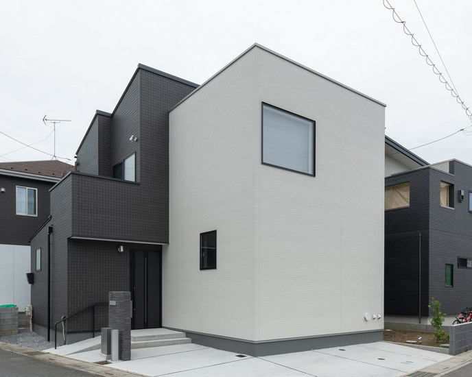 ไอเดีย และแบบการสร้างบ้านรูปทรงเหลี่ยมเน้นการตกแต่งภายใน