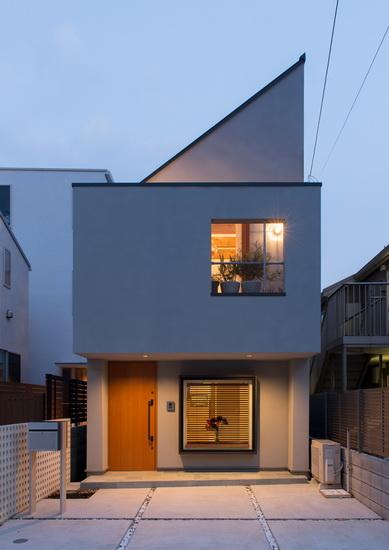 ไอเดียสร้างบ้านโทนสีธรรมชาติพร้อมประยุกต์ให้เข้ากับรูปทรงเรขาคณิต