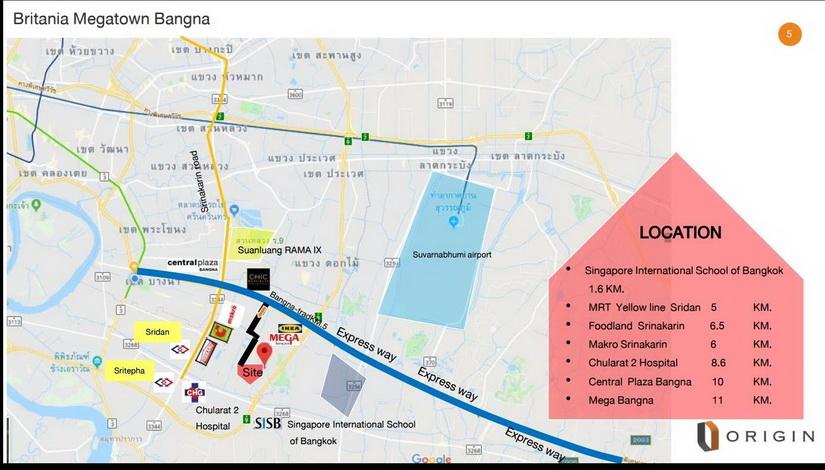 Britania Mega Town Bangna