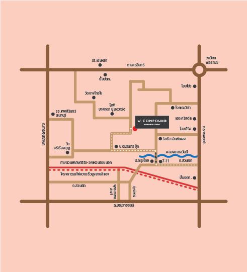 รีวิว บ้าน และทาวน์โฮม V COMPOUND Ratchpruek-Pinklao (วี คอมพาวด์ ราชพฤกษ์-ปิ่นเกล้า)