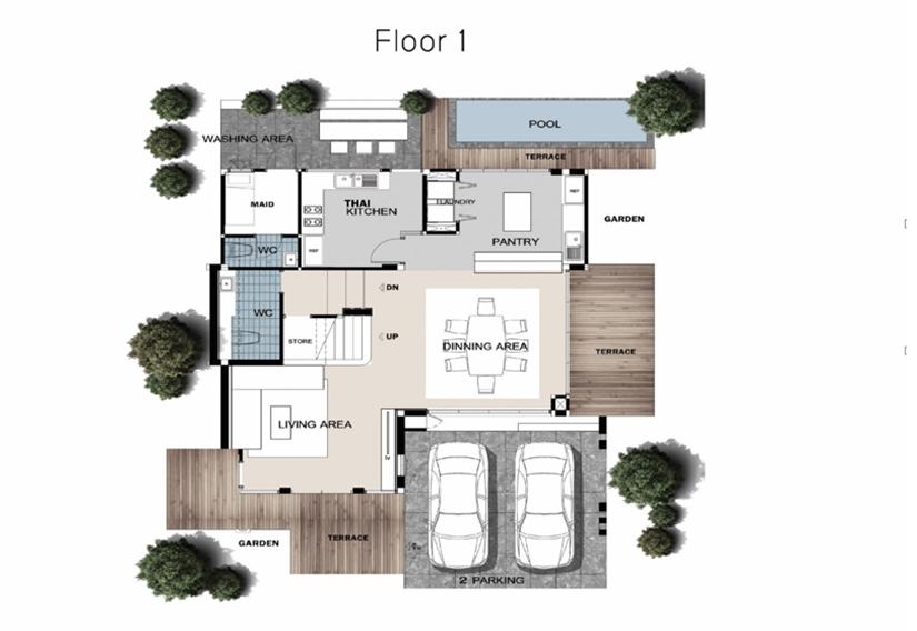 รีวิว บ้านเดี่ยว The Gallery House Pattern (เดอะ แกลเลอรี่ เฮ้าส์ แพทเทิร์น)