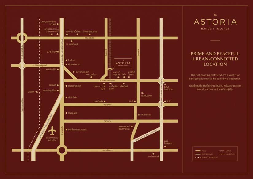 ASTORIA Rangsit-Klong3